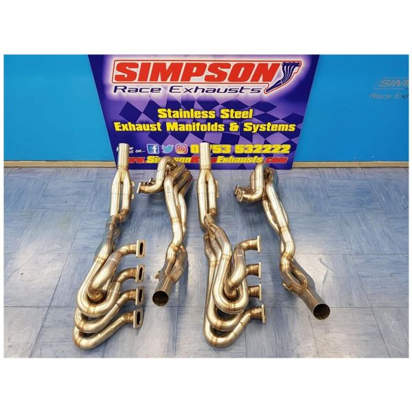 Simpson Ford Escort Cosworth YB Stepped 4-2-1 Exhaust Manifold